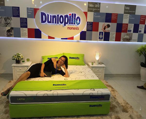 Đệm cao su Dunlopillo Latex World Neo