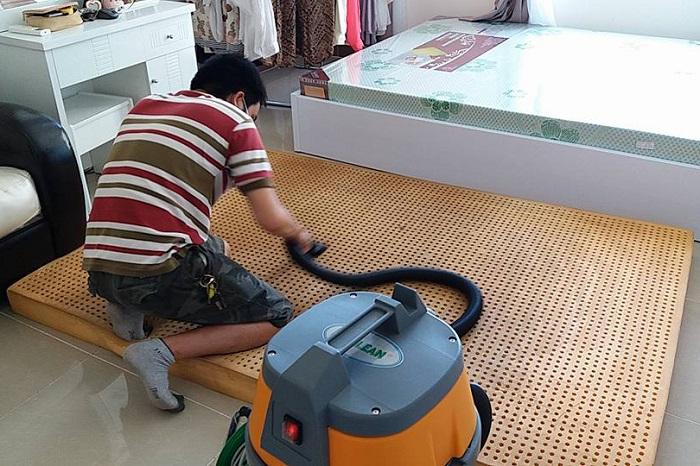 Dịch vụ giặt đệm tại nhà