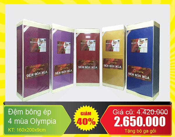 đệm bốn mùa olympia