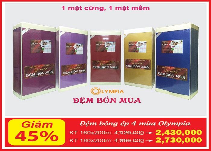 dem-bon-mua-olympia-khuyen-mai