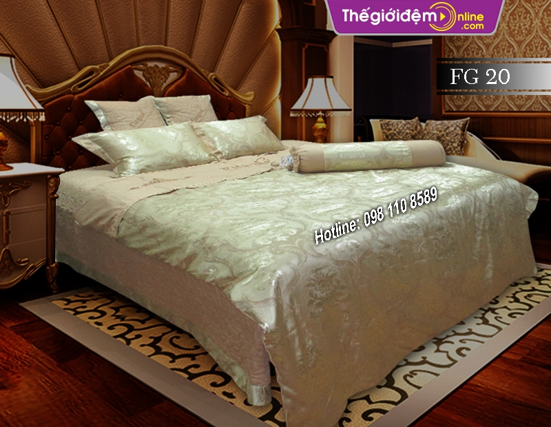 Bộ chăn ga gối Singapore Home Collection FG 20