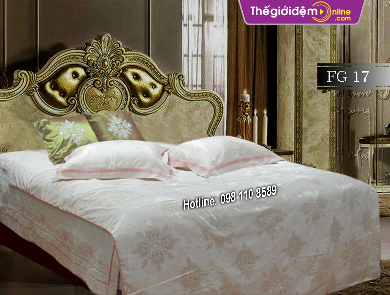 Bộ chăn ga gối Singapore Home Collection FG 17