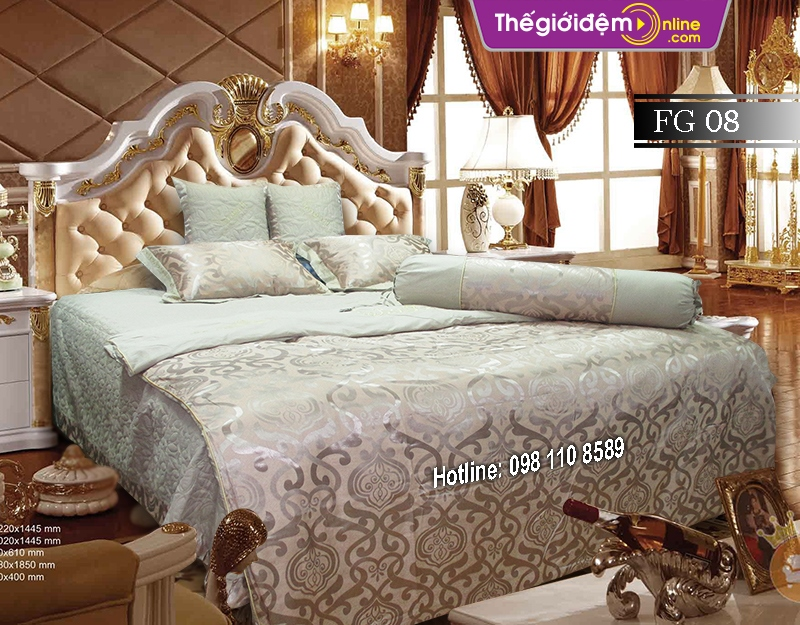 Bộ chăn ga gối Singapore Home Collection FG 08