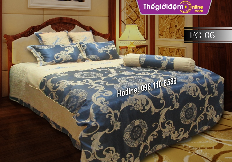 Chăn ga gối Singapore Home Collection FG 06