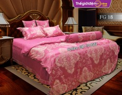 Bộ chăn ga gối Singapore Home Collection FG 18