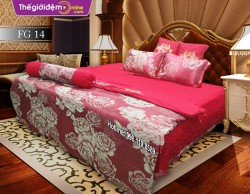 Bộ chăn ga gối Singapore Home Collection FG 14
