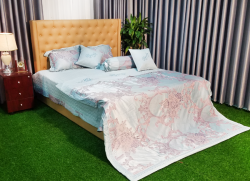 Bộ chăn ga gối Singapore Home Collection FG 407