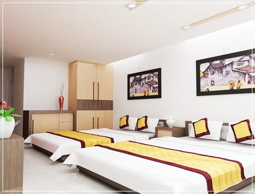 Tấm trang trí khách sạn