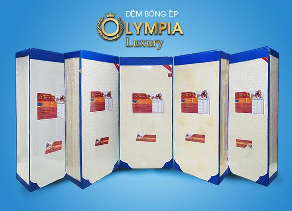Đệm bông ép Olympia Luxury gấm xốp cao cấp